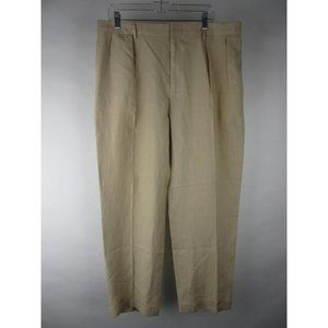 Polo By Ralph Lauren Linen Khaki Dress Pants